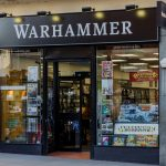 Retail shop of Games Workshop