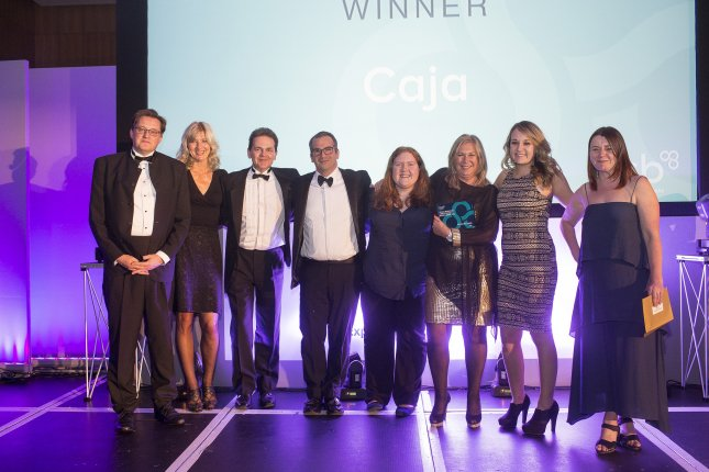 Caja wins Best New Business of the Year award